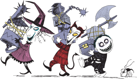 graphic freeuse library Image result for characters. Nightmare before clipart before christmas.