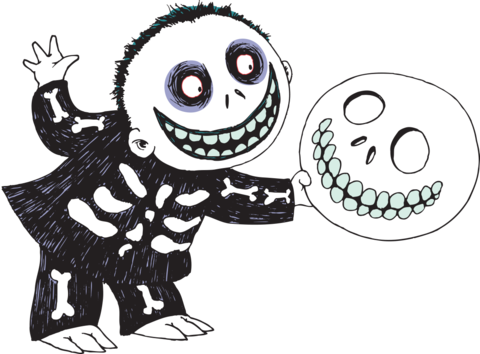 clip art transparent download Image result for little boy off of nightmare before christmas