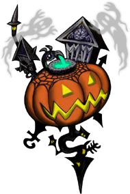 svg royalty free library Kingdom hearts wiki the. Nightmare drawing halloween town