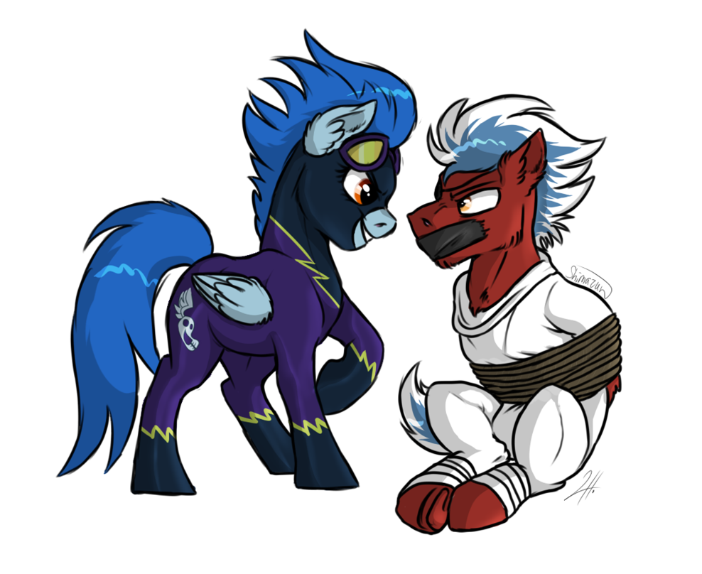 image library stock Nightshade drawing. Thunderstreak and by shimazun
