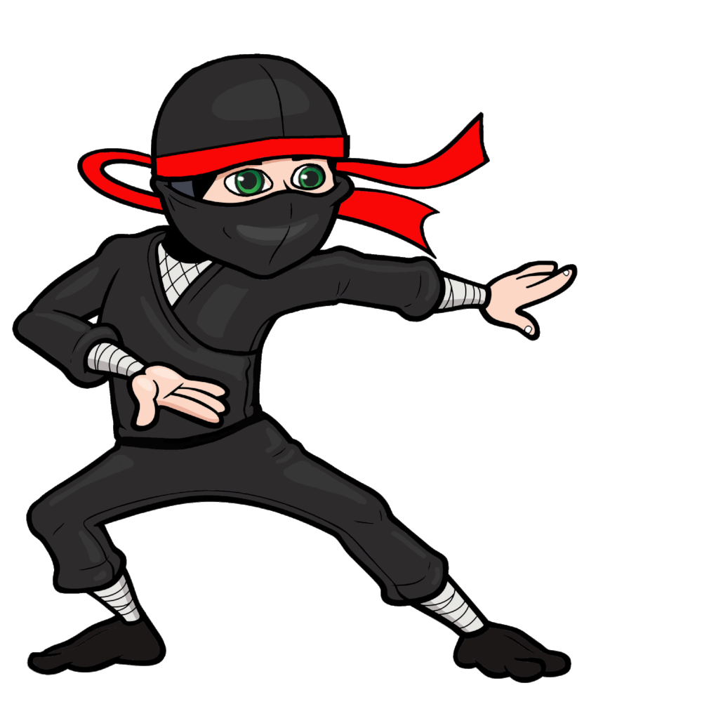 banner Ninja clipart. Png image purepng free.