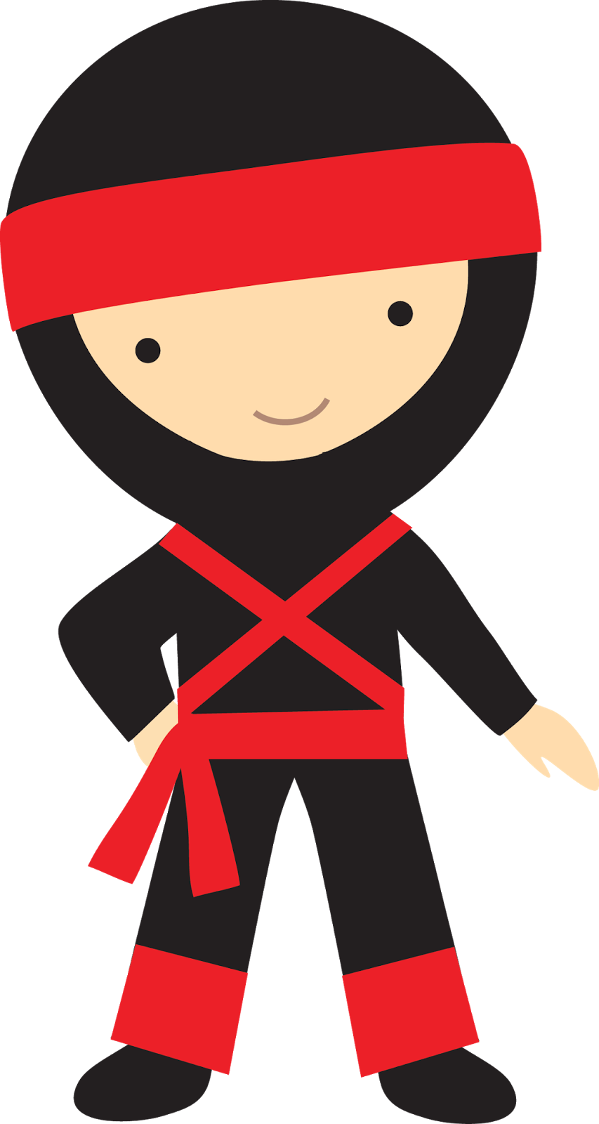 jpg black and white Sgblogosfera mar a jos. Kid ninja clipart