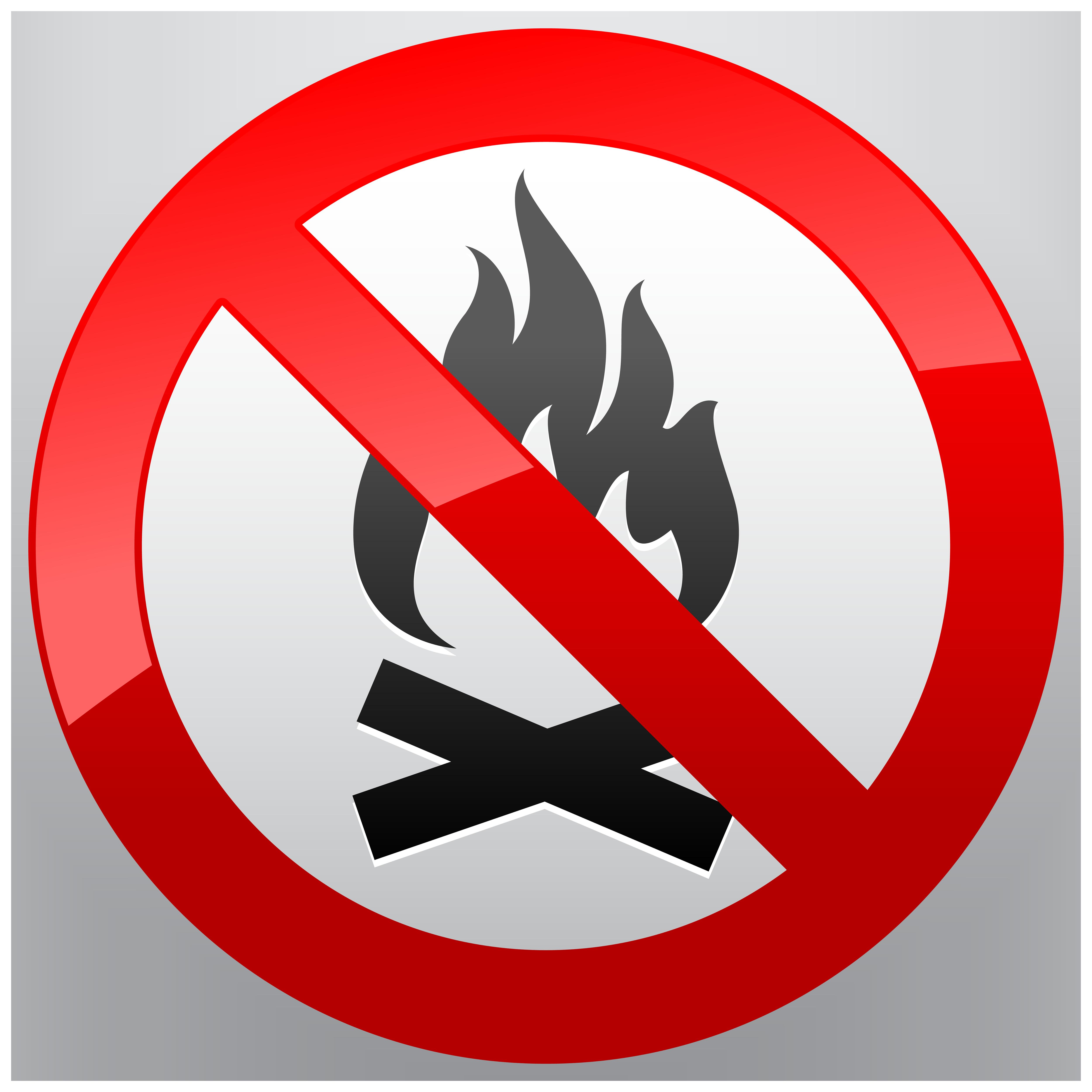 png transparent Fire prohibition sign png. No clipart