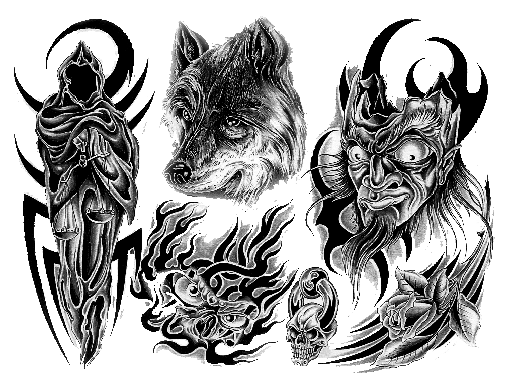 black and white download Wolf design transparent transparentpng. No drawing tattoo