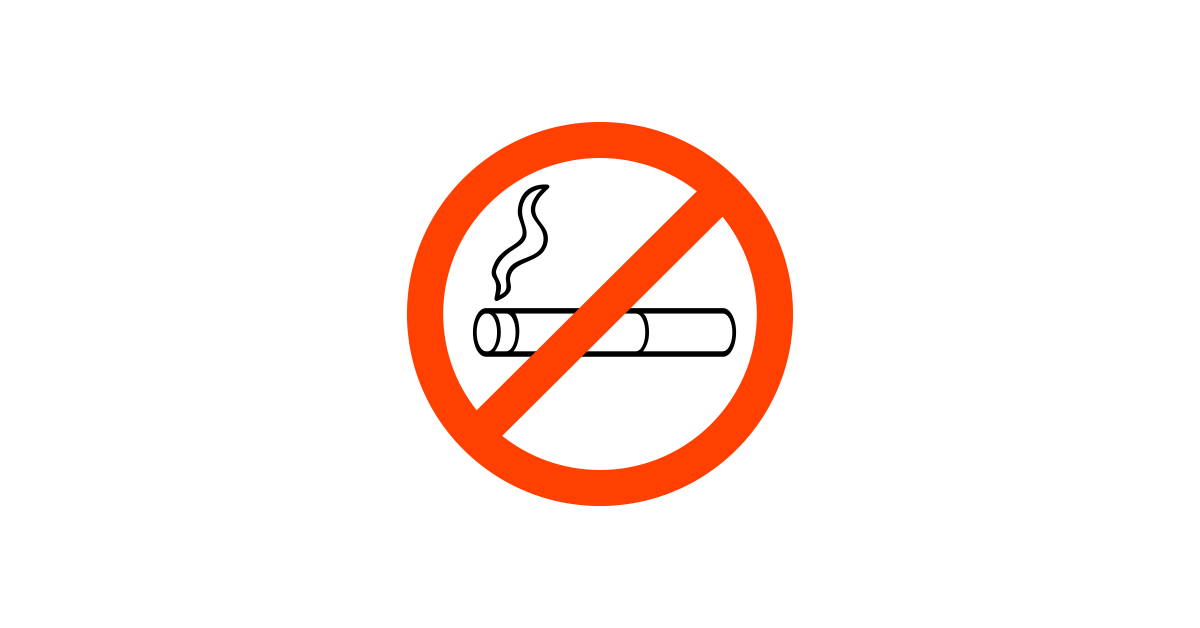 vector transparent library No Smoking Sign Vector and PNG files