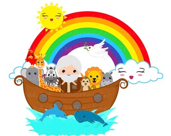 clip library Noah ark clipart.  png files s