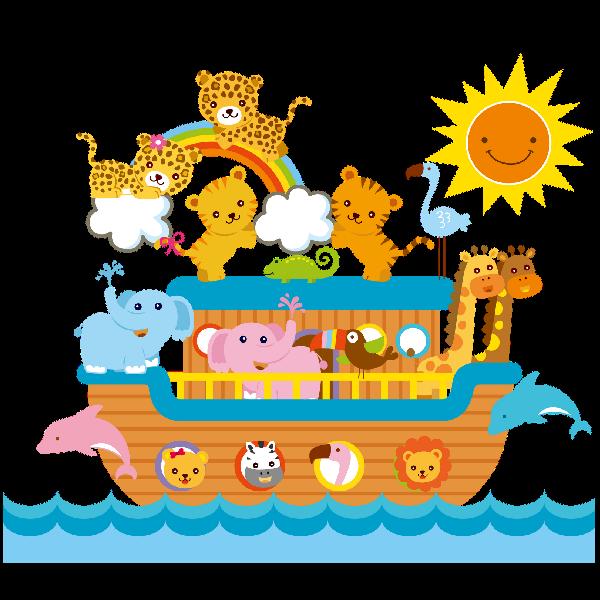 jpg royalty free library noah ark clipart noah family #43456530