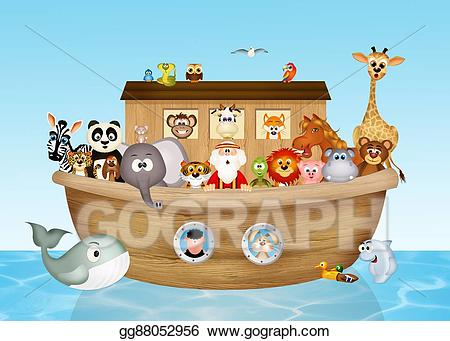 image freeuse library Noahs ark clipart. Drawing noah s gg