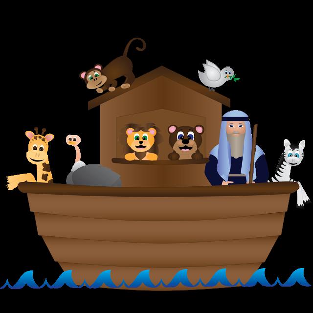 vector freeuse library Noahs ark clipart. Noah free download clip