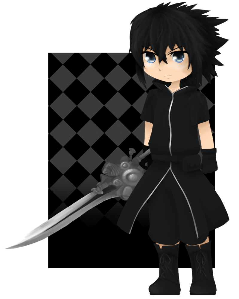 clipart library stock Chibi Noctis Lucis Caelum by LyricaDreams on DeviantArt