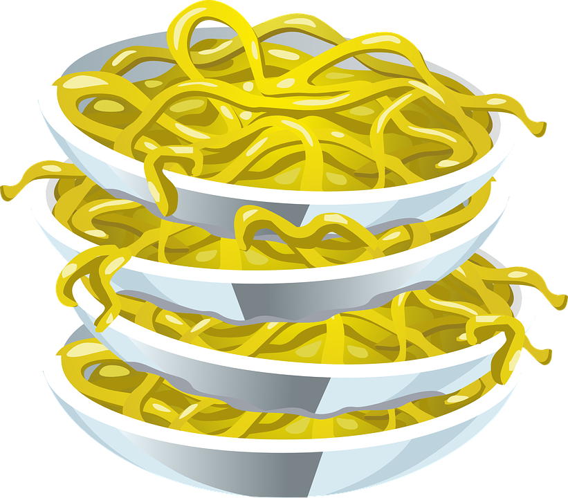 svg freeuse Noodles clipart illustration. Noodle spaghetti free on