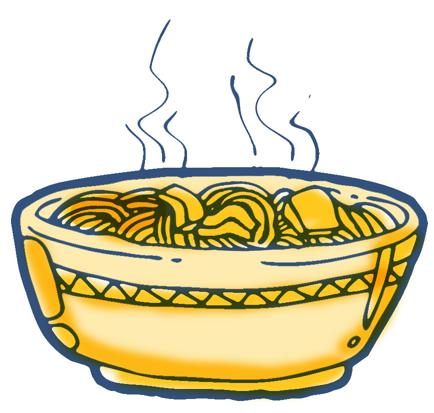 royalty free Noodle clipart. Free border cliparts download