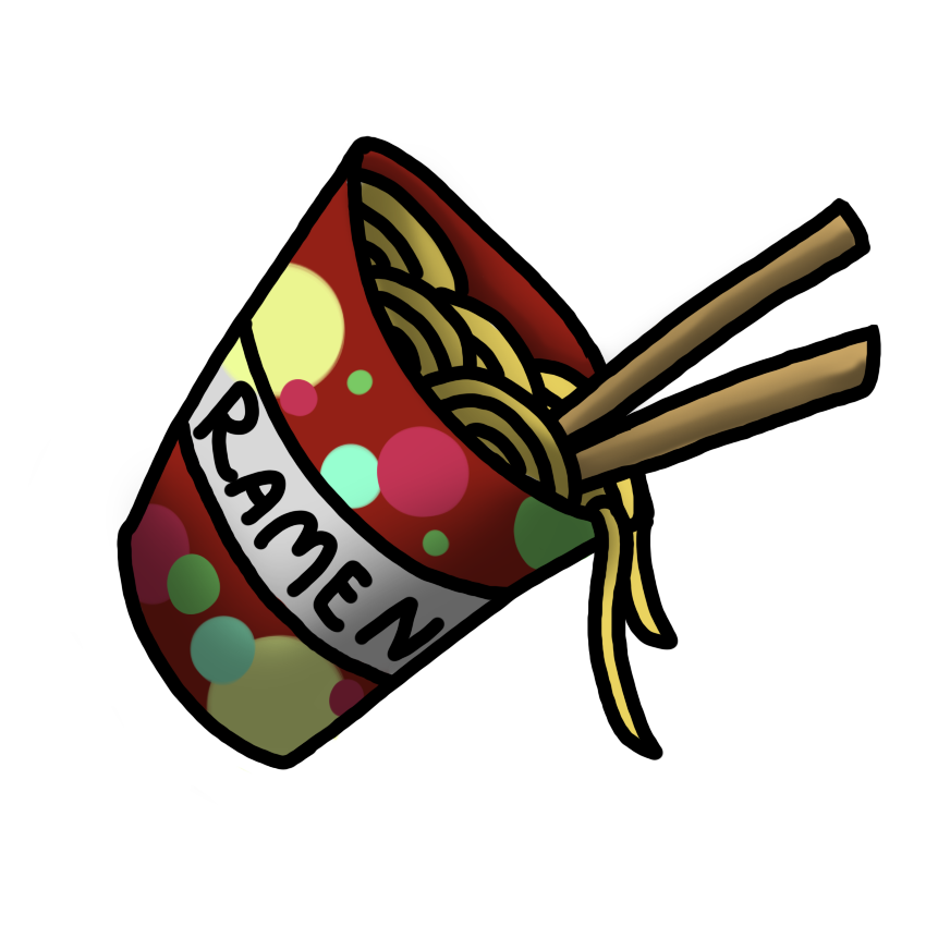 clip art free Ramen cup by why