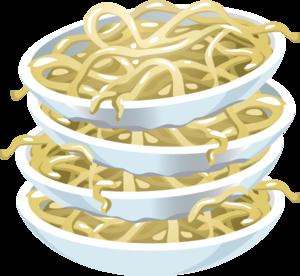 svg free stock Plain Noodles Clip Art at Clker