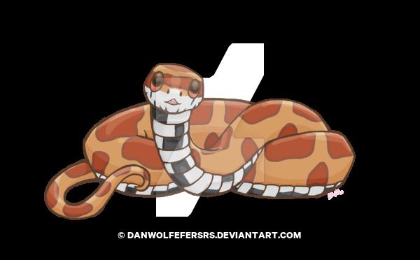 banner free Cutie Corn Snake by Danwolfefersrs on DeviantArt