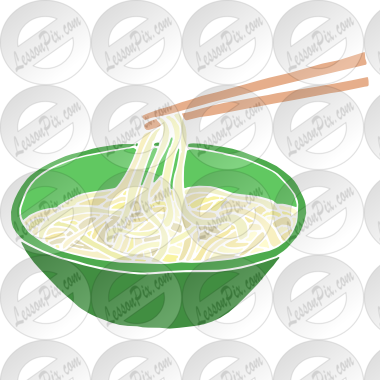 jpg library download Noodles clipart. Stencil for classroom therapy.