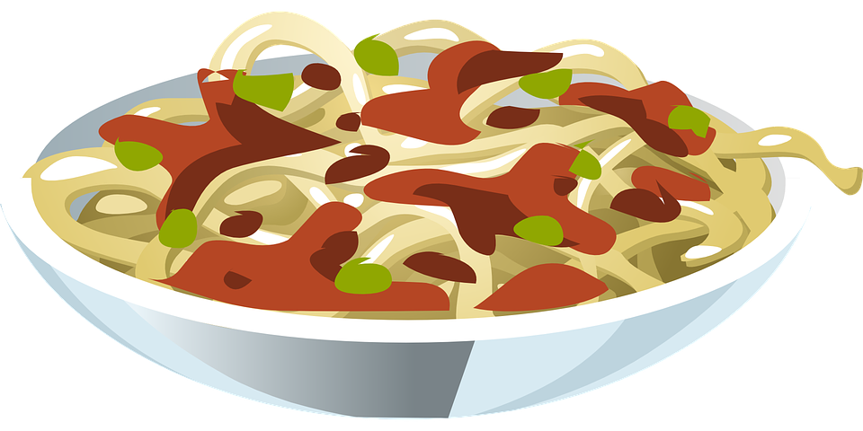 vector royalty free library Noodles clipart pasta italy