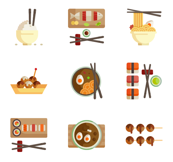 image Chinese food Icons