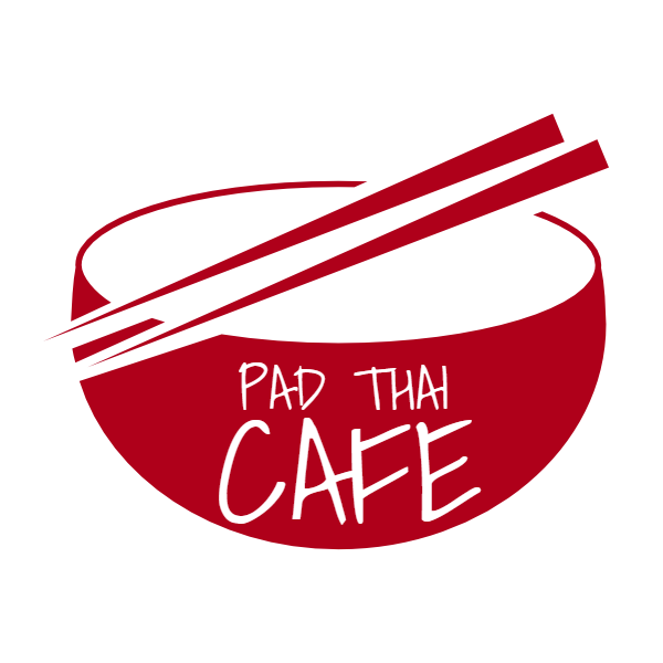 clip art black and white library Pad Thai Cafe