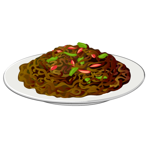 image freeuse Free Fried noodles image