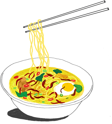 png library Noodles clipart illustration. Food on chinese full