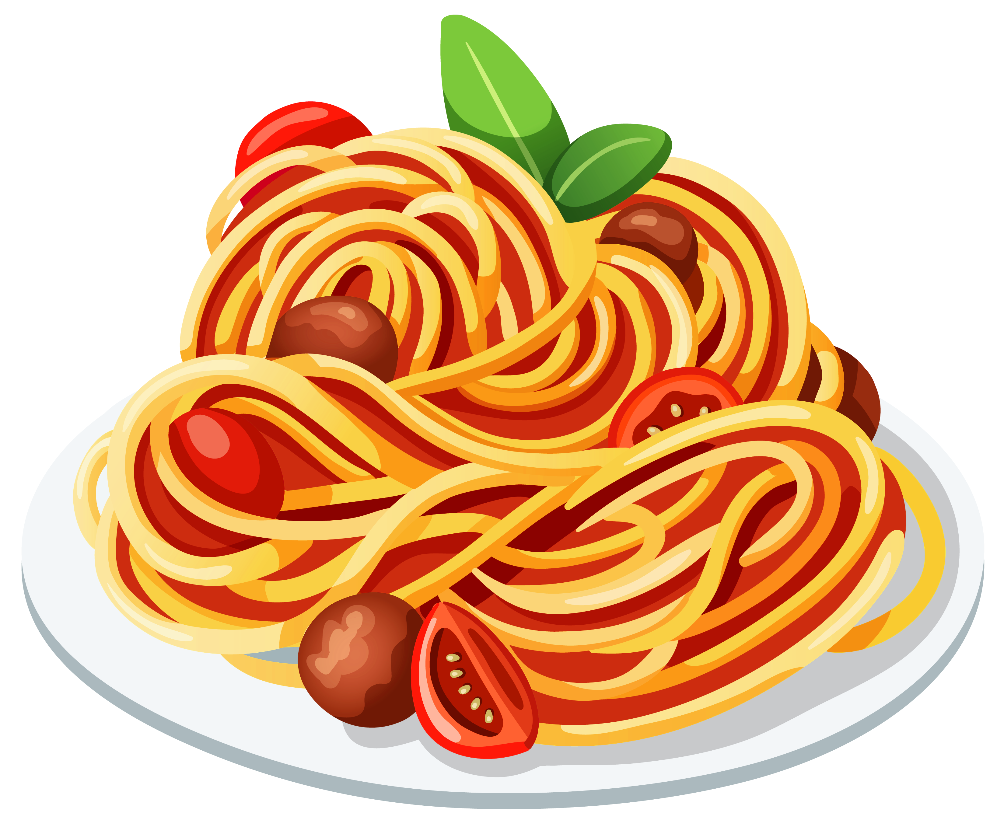 clip art freeuse pasta vector background #114908355