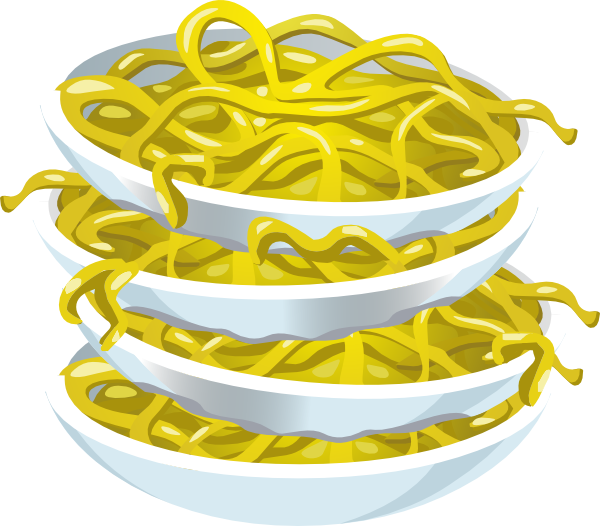 png freeuse Tangy Noodles Clip Art at Clker