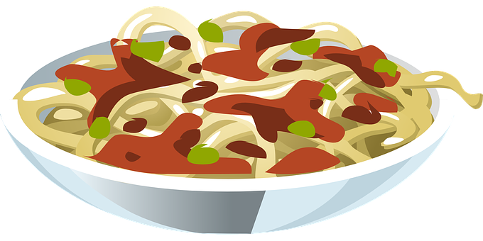 clip art royalty free download Noodles clipart linguine