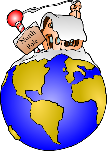vector library library Clip art at clker. North pole clipart