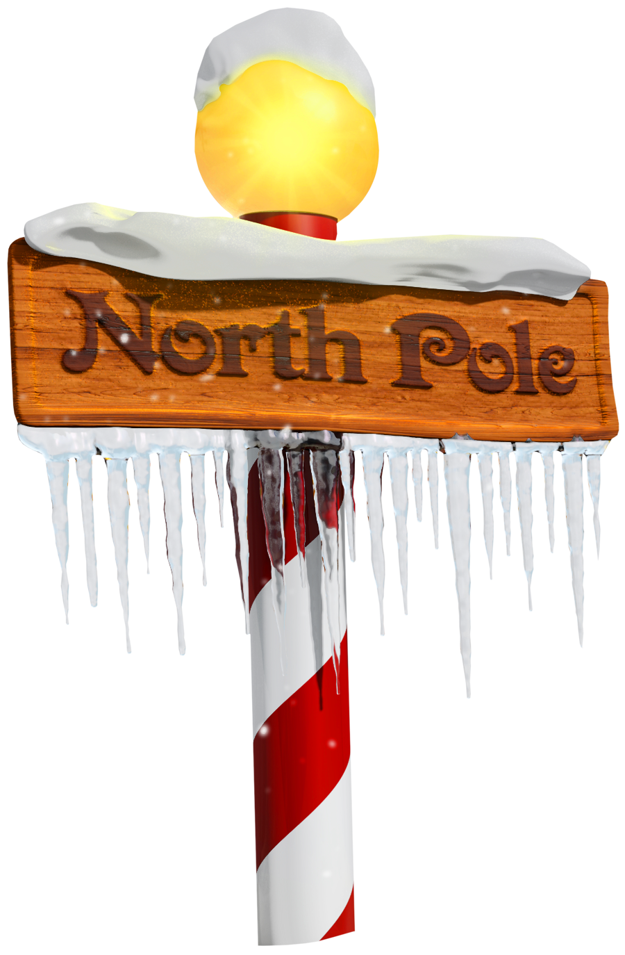 clip free download North pole clipart. Sign png gallery yopriceville