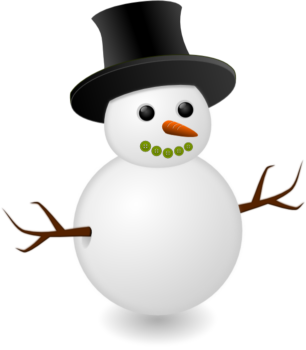 banner transparent stock Cute Snowman Graphics and Animations