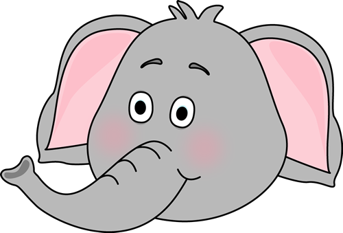 picture freeuse stock elephant face clipart #62600000