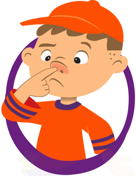 royalty free library picking nose clipart booger picker one