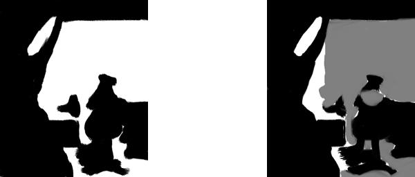 banner transparent Notan Drawing