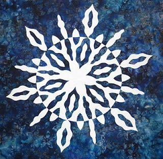 royalty free Notan Snowflake Art Mini by Nancy Schlegel