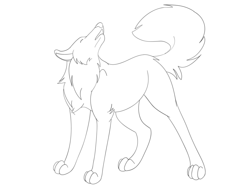 svg black and white download Wolves Howling Drawing at GetDrawings