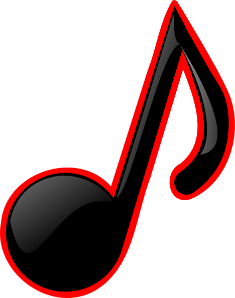 graphic free library Note clipart. Small music notes free.