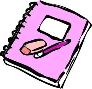 graphic library library Clip art at clker. Notebook clipart