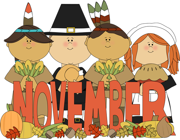 svg freeuse Month of pilgrims and. Thankful clipart november event