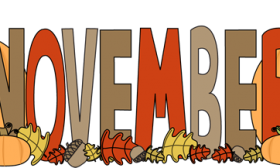 banner black and white Free download clip art. November clipart.