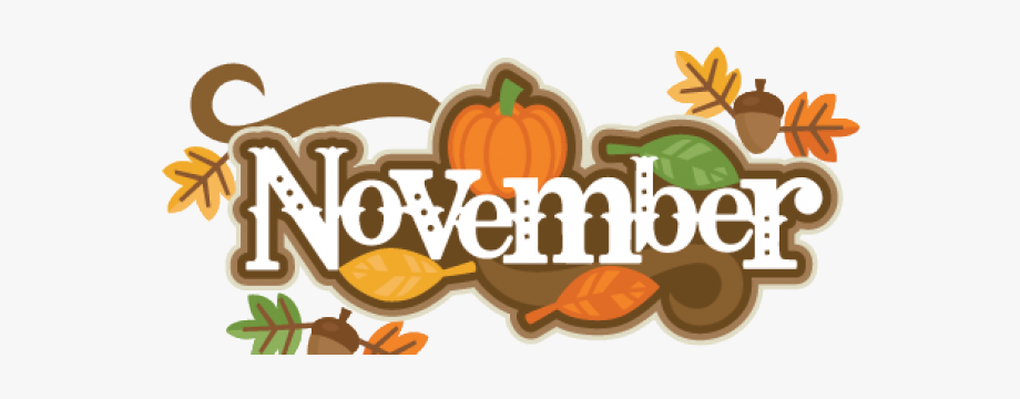 picture black and white download November clipart. Decorations pumpkin free