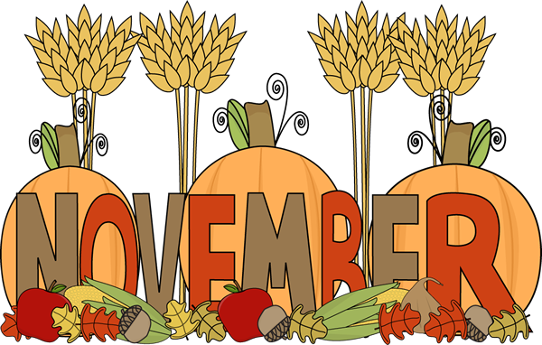 banner freeuse download November clipart.  collection of images.