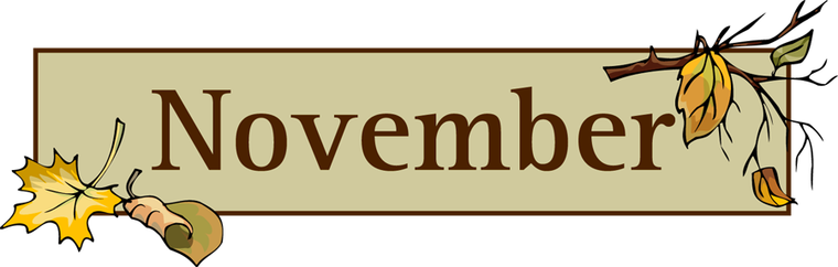 png stock Cilpart fashionable idea new. November clipart.