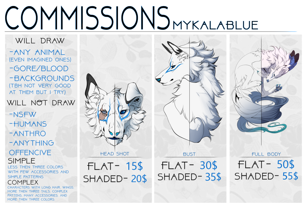 jpg black and white Commission Chart OPEN by MykalaBlue on DeviantArt