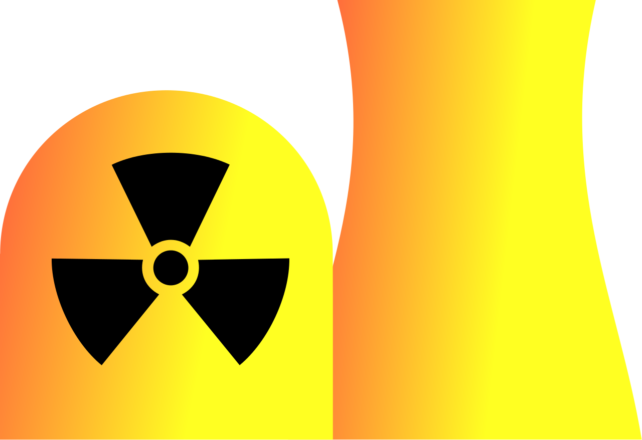 banner black and white download nuclear power plant clipart #66748408