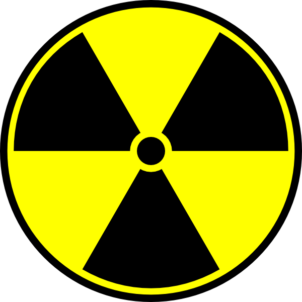 graphic transparent download Radioactive material symbol clip. Nuke clipart