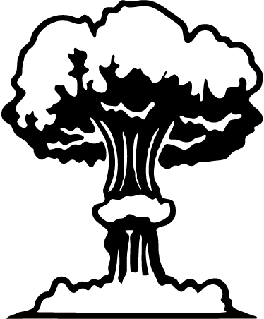jpg royalty free download Nuclear bomb at getdrawings. Nuke drawing.