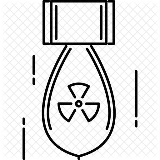 clip art freeuse stock  collection of bomb. Nuke drawing