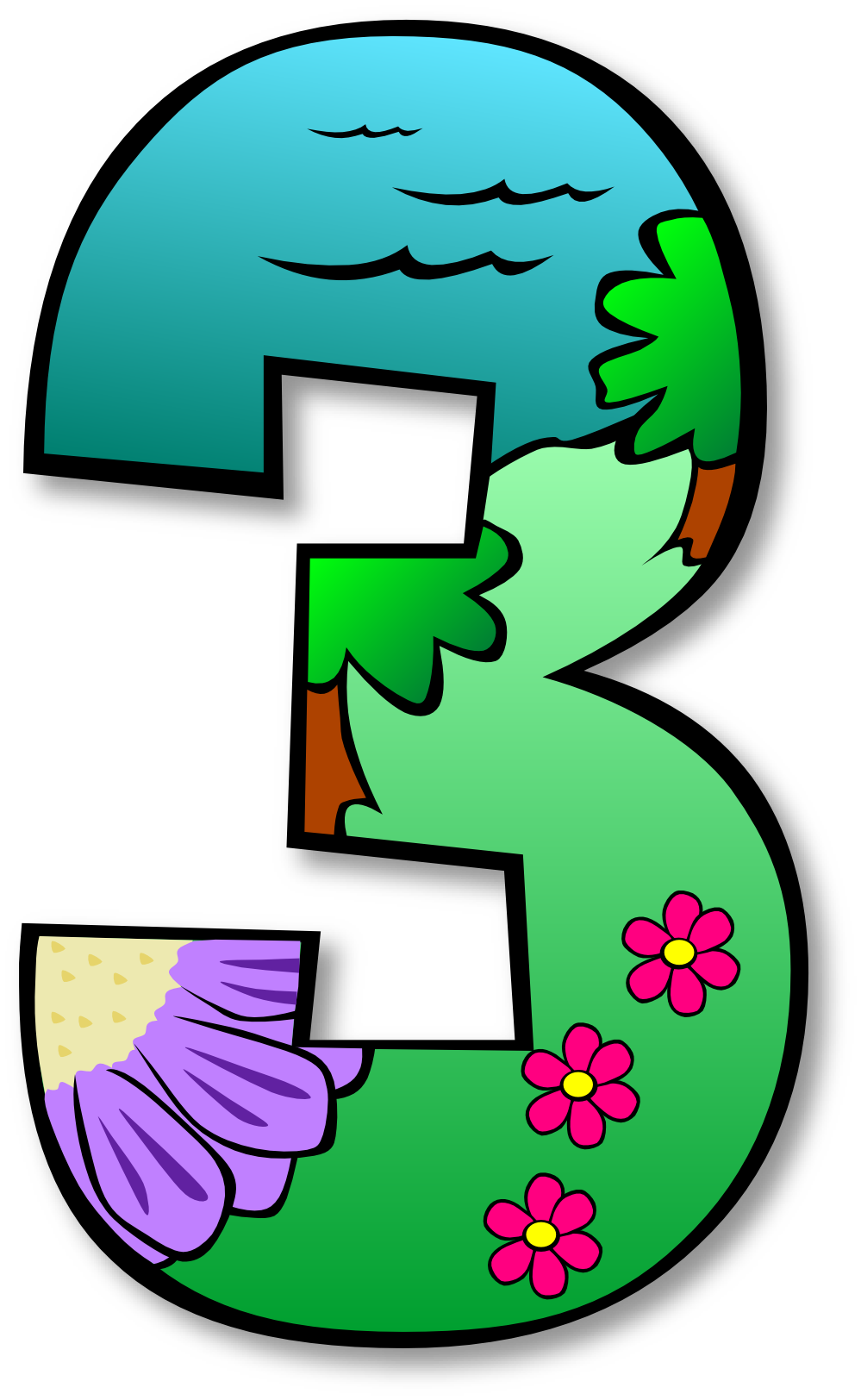 jpg library library Clip Art Numbers
