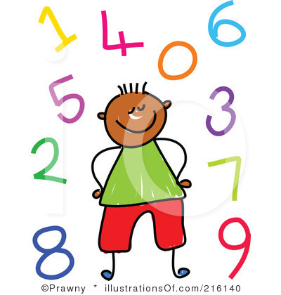 clipart freeuse Number clipart for kids. Numbers panda free images.